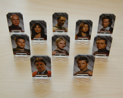 Battlestar Galactica characters are based on the TV Series main characters